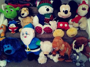 Stuffed animals $30 for all for Sale in Lithonia, GA