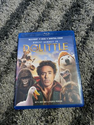 DoLittle Blu-ray for Sale in Palmdale, CA