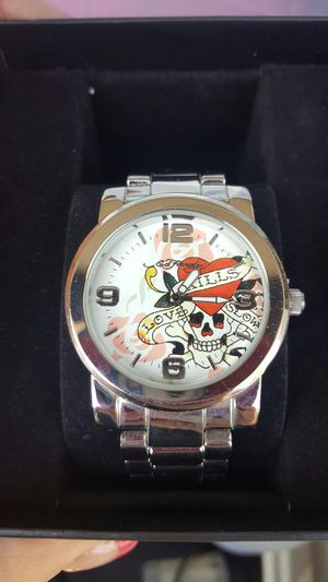 Womans Ed Hardy watch for Sale in Marquette, MI