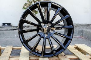 Mercedes 20x9.5 new blk rims set ml gle for Sale in Hayward, CA