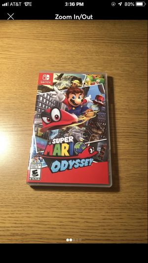 Mario Odyssey for the Nintendo Switch for Sale in Brambleton, VA