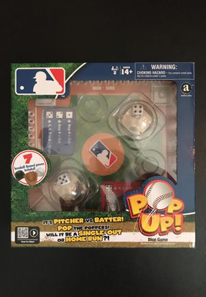 MLB Dice Popup Game for Sale in San Francisco, CA