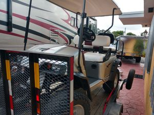 Trailer y golf car ezgo for Sale in Miami, FL