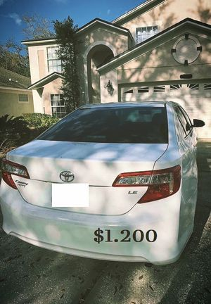 🎁$1.200 I Selling 2013 toyota camry,Very Clean!Clean Tittle!Runs and Drives great.Nice Family car!one owner!✍️ for Sale in Fresno, CA