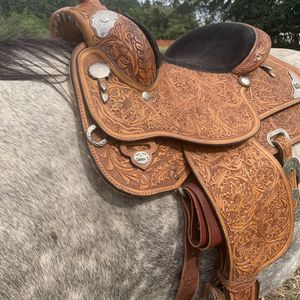 Circle y western show saddle equitation for Sale in Aberdeen, WA