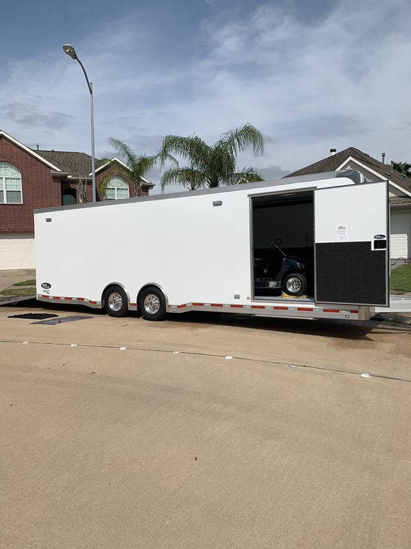 2019 ATC 405 package 28 ft. Race car hauler