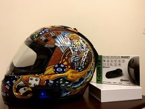 Icon Motorcycle Helmet XL for Sale in New York, NY