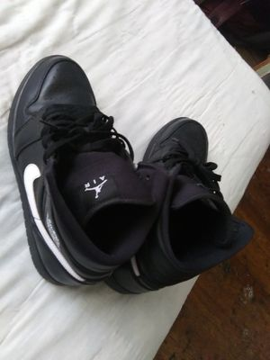 Black and white air jordan 1s for Sale in San Angelo, TX