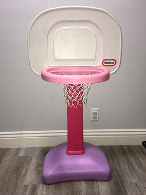Little Tikes basketball hoop for Sale in Rancho Cucamonga, CA