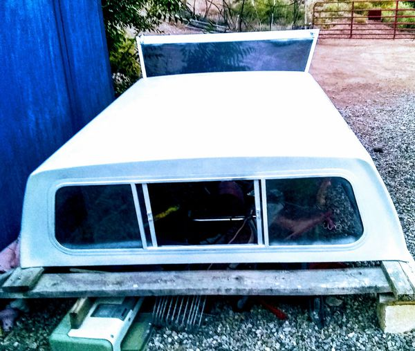 CAMPER SHELL FOR FULL SIZE TRUCK!