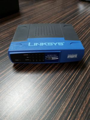 LINKSYS 10/100 5 PORT SWITCH. NO WIFI. for Sale in Plano, TX