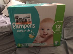 Pampers diapers for Sale in Denver, CO