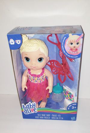 Baby Alive face paint fairy for Sale for sale  Humble, TX