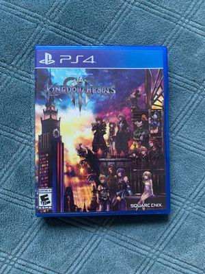 Kingdom Hearts 3 PS4 for Sale in Plantation, FL