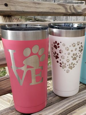 **FLASH SALE** Laser-Etched Tumblers for Sale in Bristol, RI