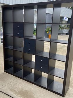 Awesome Bookshelf with six jurors Perfect Pool Holding Albums 73 tall 15 1/2 deep 72 wide for Sale in Coronado,  CA