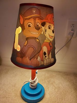 Lamp - Paw Patrol for Sale in Winter Garden, FL