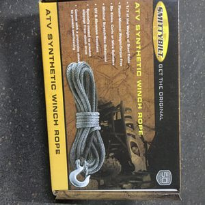 Winch rope synthetic 3000# for Sale in Corona, CA