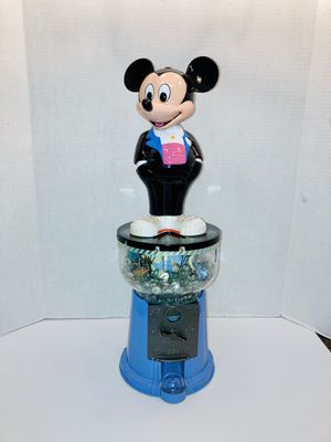 Unique Custom Disney's Made Mickey Mouse Gum Ball Dispense Turned Into A Fish Tank Decor Statue for Sale in Spring Hill, FL