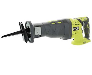 Ryobi P515 One+ 18V 7/8 Inch Stroke Length 3,100 RPM Lithium Ion Cordless Reciprocating Saw with Anti-Vibration Handle (Batteries Not Included, Power for Sale in Jonesboro, GA