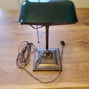 Antique Emeralite Bankers Lamp for Sale in Arlington, VA