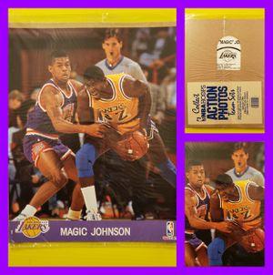 MAGIC JOHNSON 8x10 promo board for Sale in Wichita, KS