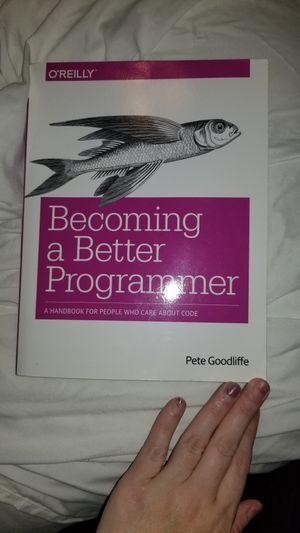 Book- becoming a better programmer for Sale in Yorba Linda, CA