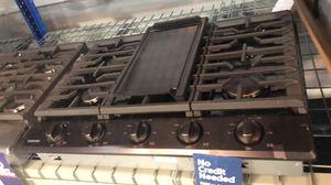 (401) New Samsung 30-in 5 Burners Gas Cooktop w/ Griddle - in Black Stainless 🔥 EzFinancing 39$ Down - No Credit Needed! for Sale in Bellaire, TX
