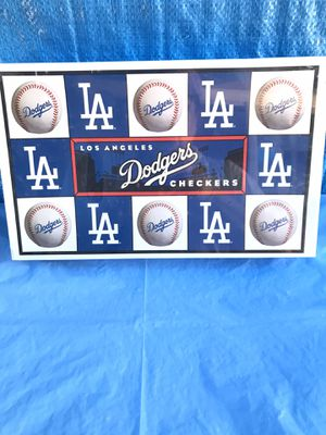 Dodgers Checkers Board Game vs SF Giants 1997 New for Sale in Irwindale, CA