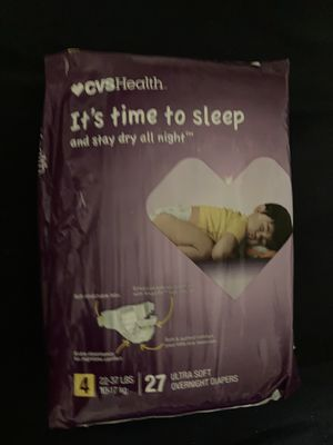 Night time diapers for Sale in Los Gatos, CA