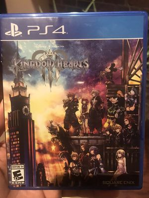 Kingdom Heart 3 (PS4) for Sale in DeSoto, TX