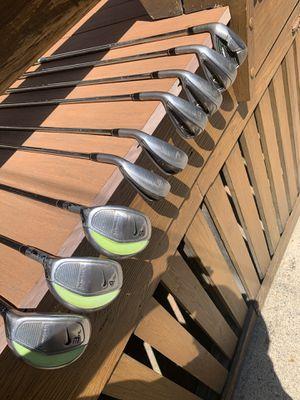 LH Nike Slingshot HL Hybrid/Iron Combo set for Sale in West Somerville, MA