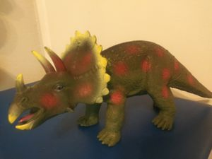 "Big dinosaur 17"" long and 8"" tall. Soft plastic for Sale in San Antonio, TX"