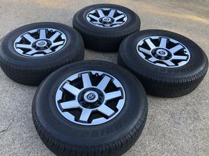"Toyota 4Runner trail pro wheels 18"" and tires for Sale in Bedford, TX"