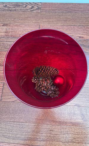 Red vase for Sale in Homer Glen, IL