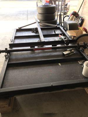 Trailer Insulated Welded (needs axle, wheels) for Sale in Auburn, WA