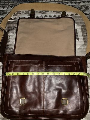 Fossil Leather messenger bag for Sale in Irving, TX