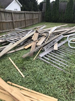 Old deck boards and hand railing - Free for Sale in Worthington, OH