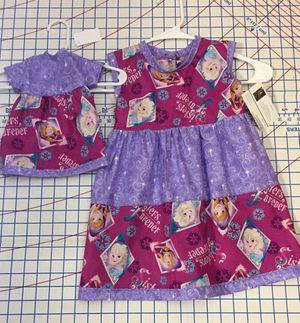 Frozen princess dress size 2/3 for Sale in Cambridge, VT
