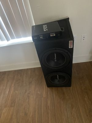 Speaker amps for Sale in Jacksonville, NC