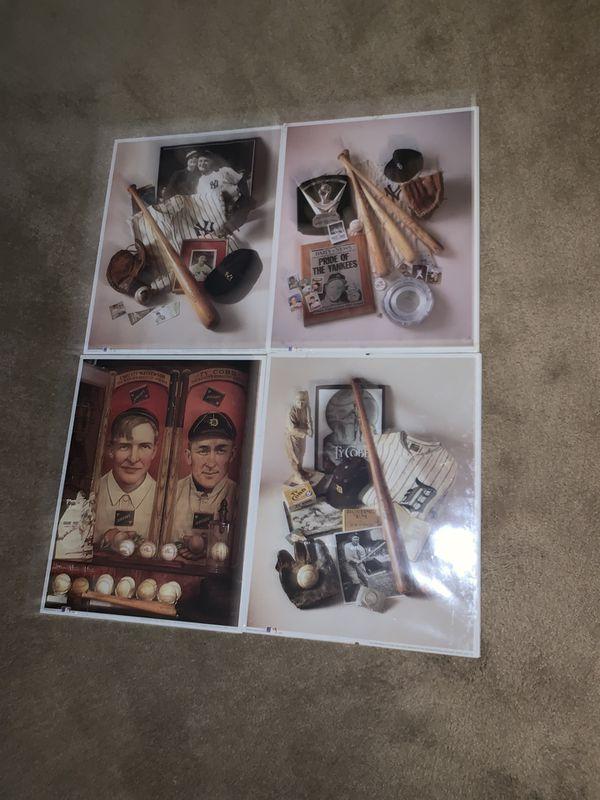 Baseball Collectable Prints