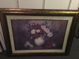 Flowers in vase for Sale in Penn Hills, PA