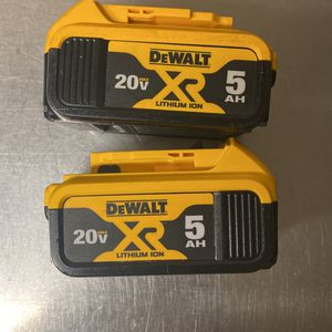 Dewalt Batteries 🔋 for Sale in Fort Myers Beach, FL