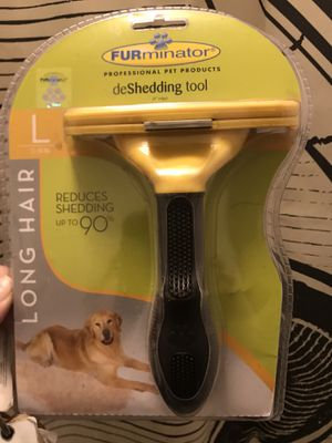 Furminator Deshedding Tool for Large, Long Haired dogs for Sale in Chesapeake, VA