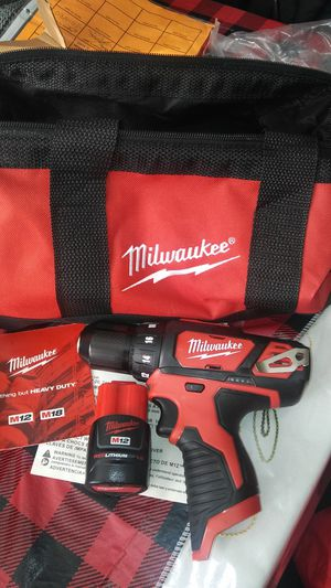 drill new never used with battery & bag for Sale in Berwyn, IL