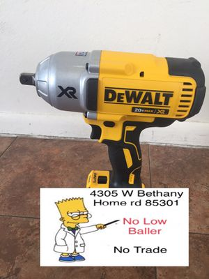 No Battery No charger (1/2 Dewalt impact)DCF899 (delivery is available) for Sale in Glendale, AZ