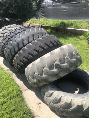 Tractor tires / work out tires for Sale in Riverside, CA