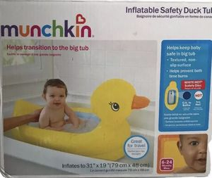New Munchkin Inflatable Safety Duck Tub for Sale in Hayward, CA