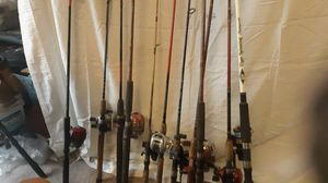 Fishing rod and reels for Sale in Gilbert, AZ
