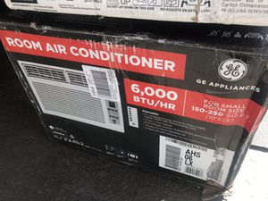 NEW IN BOX GE 6000 BTU air conditioner for Sale in Columbus, OH